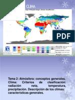 Tema 2 - ATMOSFERA Y CLIMA
