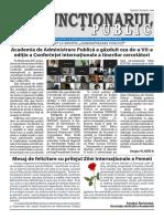 Ziarul Funcționarul public nr. 4 (593) februarie 2021