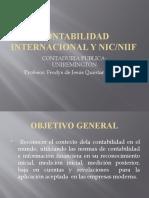 CONTABILIDAD INTERNACIONAL Y NIC NIIF  1RA PARTE