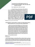Aspectos Fundamentales de Las Formaciones Del Delta Del Rio Parana y Del Estuario Del Rio de La Plata
