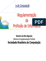 Regulamentação da profissão de informática