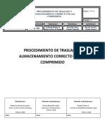 PROCEDIMIENTO DE CILINDROS GAS COMPRIMIDO