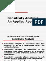 Sensityvity Analysis