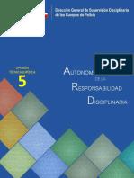 Opini_n Jur_dica N_ 5- Autonom_a de la Responsabilidad Disciplinaria
