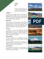 Volcanes de cada continente