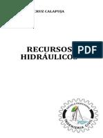 E-Recursos Hidraulicos 2021- PUCALLPA