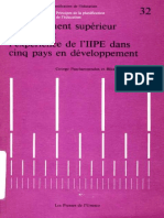 1982 _Enseignement supérieur et emploi l ' expérience de ΓΙΙΡΕ dans cinq pays en développement