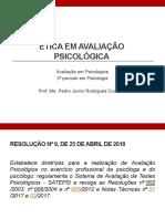 Ética em Avaliação Psicológica