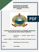 3.- CABO PRIMERO-DELINCUENCIA Y VIOLENCIA CAUSAS EFECTOS Y TÁCTICAS