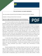 relatorio ENTREVISTA ENSINO FUNDAMENTAL