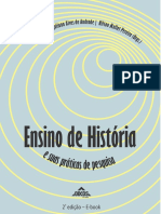 Ensino de história e suas práticas de pesquisa
