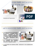 Tema 2. Métodos de Implantación