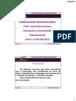 1-4 Comunicação Organizacuinal José Paulo