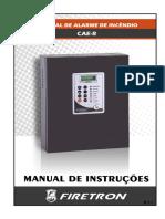 CENTRAL DE ALARME DE INCÊNDIO CAE-R R.7.1