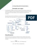 TB5 Proceso de Producción de Amoníaco