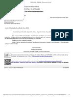Memorando-Circular DIEF nº 10 Conselho de Classe