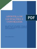 Apostila de Licitacoes e Contratos