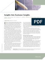Insights into Customer Insights[1]