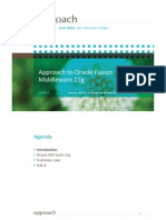 Approach to Oracle Fusion Middleware 11g