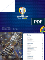 Reglamento Copa America 2021