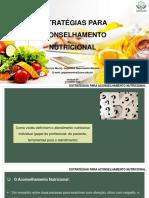 Aula 9 - ESTRATÉGIAS PARA ACONSELHAMENTO NUTRICIONAL