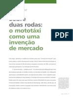 DA FONSECA, Natasha Ramos Reis. SOBRE DUAS RODA - MOTOTÁXI COMO UMA INVENÇÃO DE MERCADO