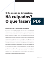 DA SILVA, Luiz Antonio Machado. O RIO DEPOIS DA TEMPESTADE