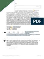 """???? ?????? ???? en Instagram_ """"VIENEN COSAS GRANDES PARA VENEZUEL 3"""