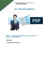 TEMA 3. IMPORTANCIA Y TIPO DE MUESTREOS