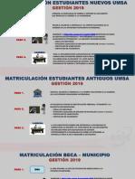 PASOS Matriculación