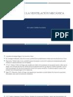 HISTORIA DE LA VENTILACIÓN MECÁNICA