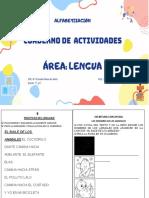 Cuadernillo Alfabetizacion 5to y 6to Grado