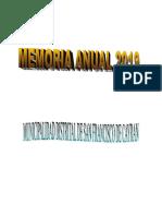 MEMORIA ANUAL CAYRAN 2018