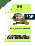 Manuel des procedures foncières rurales
