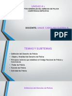diapositiva derecho  de policia I