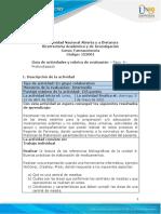 Guia de Actividades y Rúbrica de Evaluación - Unidad 4 - Paso 4 - Profundización