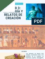Unidad 3 Mitología y Relatos de Creación