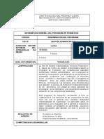 1.1.Tecnólogo en Gestión Administrativa Cód. 122115 v.100