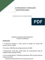 Energia Biomassa Aula 2018