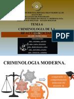 TEMA 6 PRESENTACION CRIMINOLOGIA DE LA REACCION SOCIAL