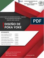 Diseño de Poka Yoke.