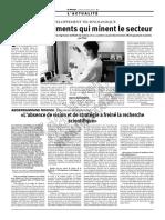 R&D Développement technologique en Algerie