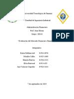 Investigación #1 - Mercados Financieros