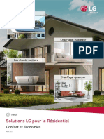 Brochure Solutions LG - Résidentiel Neuf