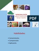 Mineralogia - Profesora Priscila Guzman