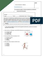 Cs. Naturales 5° Básico guía n°15 evaluación sistema respiratorio y circular