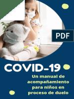 Manual de acompañamiento para  niños en proceso de  duelo