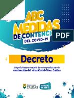 MEDIDAS DE CONTENCION 4.0