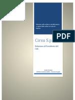 Relazione al cda Cirsu 14 marzo 2011