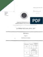 Fizik scheme teknik-paper 3